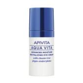 Apivita Aqua Vita Crema Contorno de Ojos Hidratante Revitalizante