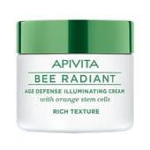 Apivita Bee Radiant Crema Iluminadora Antiedad Textura Rica 50ml