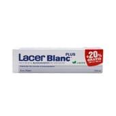 Lacer Blanc Plus Fluor Menta + 20% Gratis 150ml de Lacer