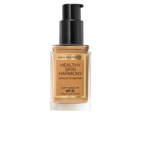 Healthy Skin Harmony Foundation #77-Soft Honey de Max Factor
