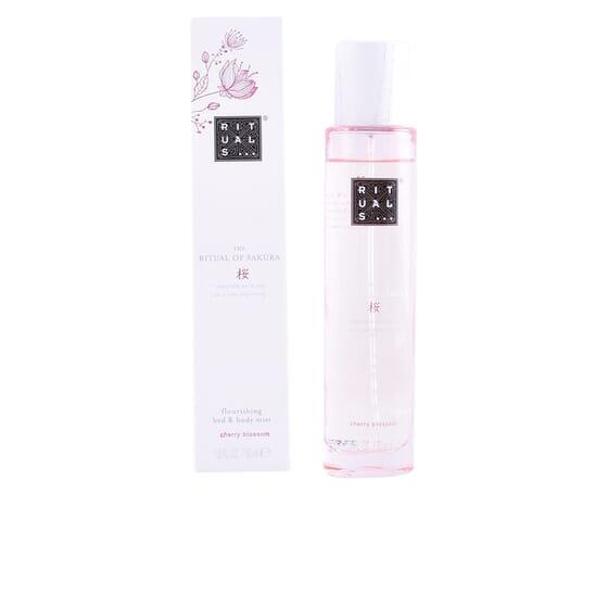 Sakura Flourishing Bed & Body Mist  50 ml de Rituals