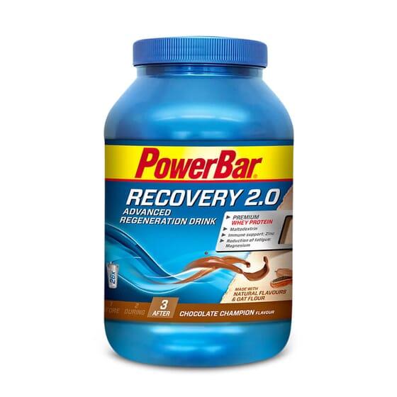 Recovery 2.0 contient des glucides et protéines de haute qualité.