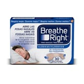 BREATHE RIGHT CLÁSICAS TIRAS NASALES TALLA GRANDE 30 Uds de Breathe Right