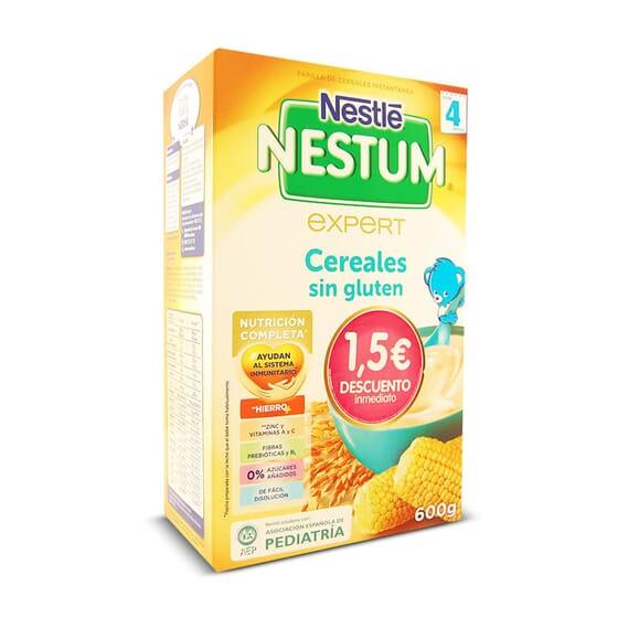 Nestum Céréales sans Gluten nourrit votre bébé à partir de 4 mois.