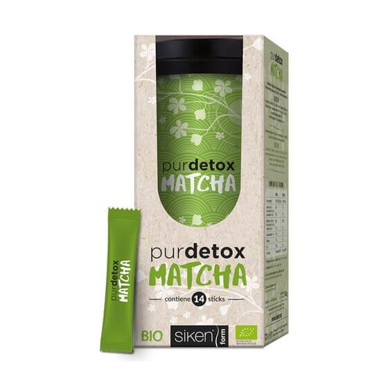 Purdetox Matcha est une boisson detox avec des ingrédients naturels de Siken.