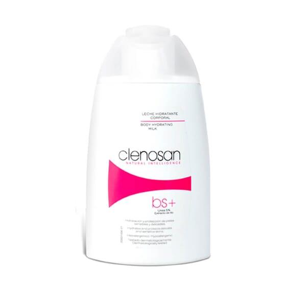 Clenosan Lait Hydratant Corporel nourrit et protège.