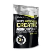 O 100% Micronized Creatine Monohydrate é uma creatina de grau farmacêutico.
