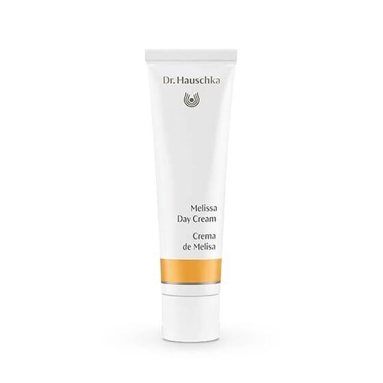 Crème de Jour à la Mélisse protège la peau sensible de toute la famille.
