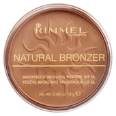 Natural Bronzer SPF15 #021-Sunlight 14g de Rimmel London