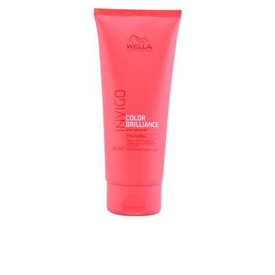 Invigo Color Brilliance Conditioner Fine Hair 200 ml de Wella