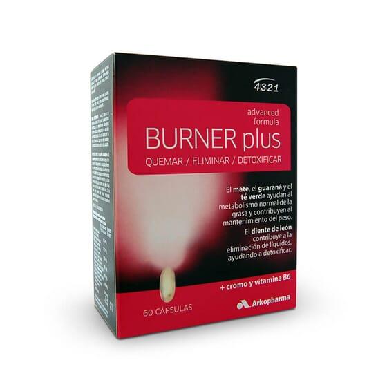 O Burner Plus com Guaraná e Mate queima e elimina a gordura.