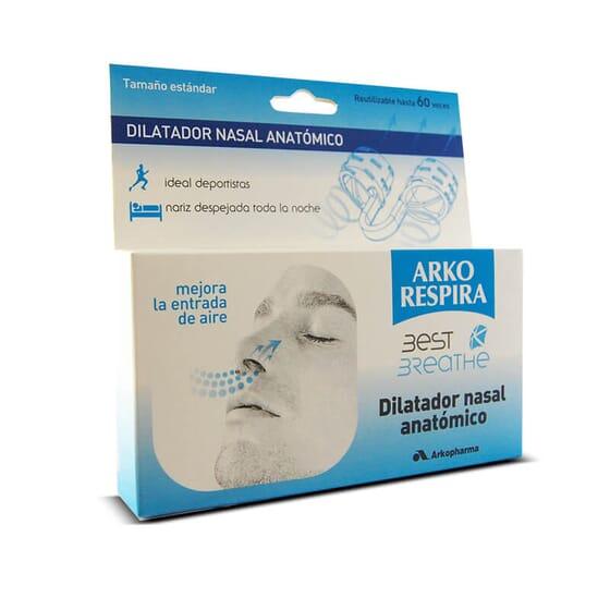 Best Breathe Dilatateur Nasal Anatomique facilite le passage de l'air dans le nez.