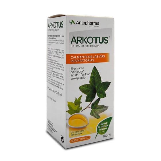 Arkotus Extrait De Lierre facilite la respiration.