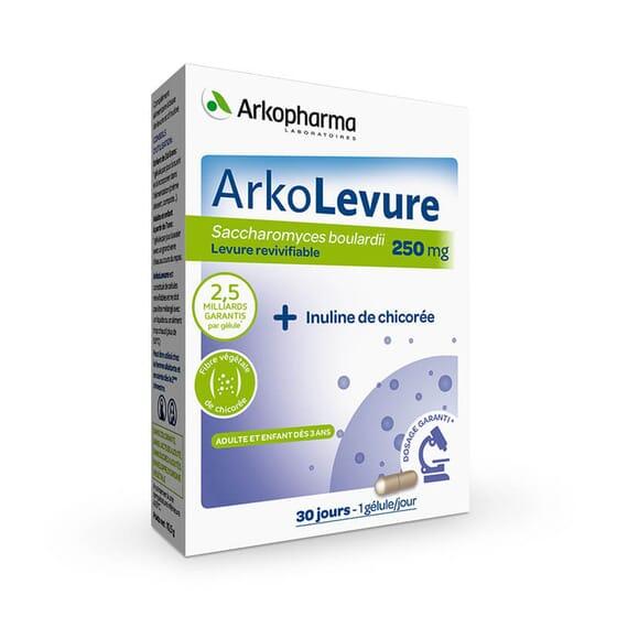 Arkolevure contribue à maintenir saine la flore intestinale.