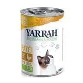 Paté com Frango para Gatos Bio 400g da Yarrah