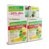 Arkovital Pur'Énergie soutient les défenses et améliore l'énergie et la vitalité.