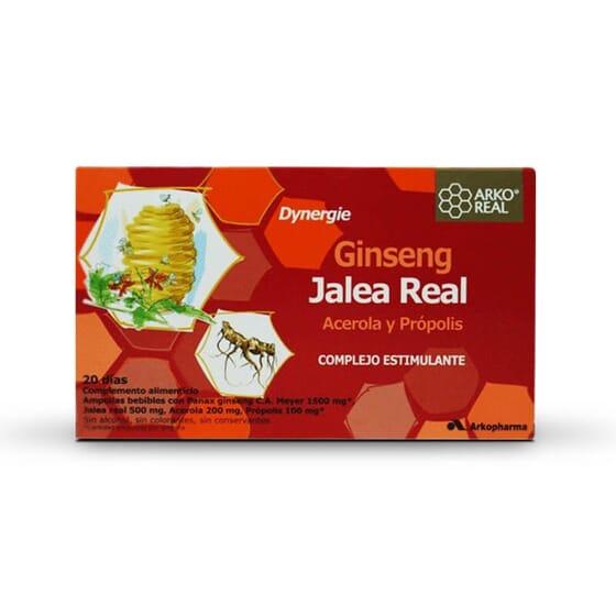 Renforcez votre énergie et vitalité grâce à Arkoreal Gelée Royale + Ginseng.