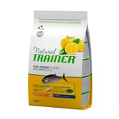 Natural Perro Adult Small-Toy Atún y Arroz 2 Kg de Trainer