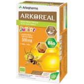 O Arkoreal Geleia Real 500mg reforça as defesas do organismo.