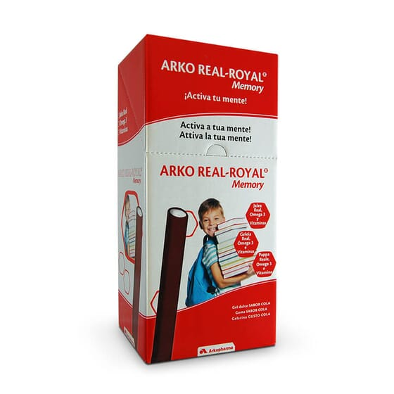 Arkoreal Royal Memory contribue au rendement intellectuel normal.