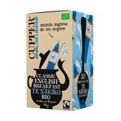 Classic English Breakfast Bio 20 Infusions de Cupper