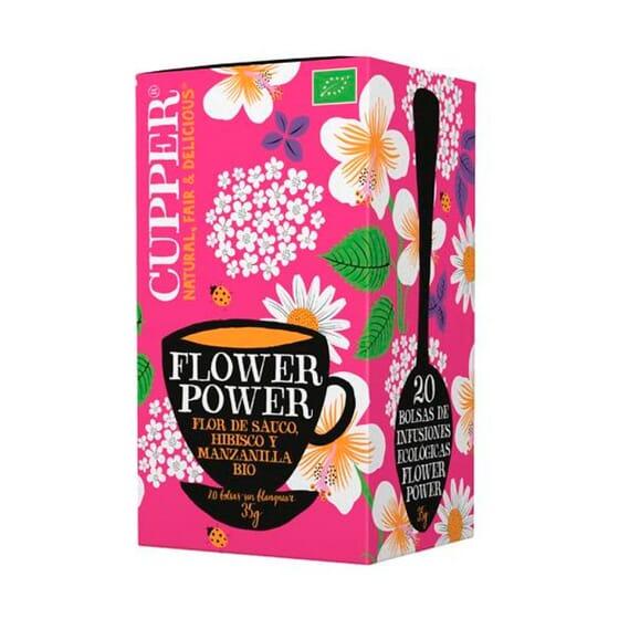 Infusión Flower Power Bio 20 Infusiones de Cupper