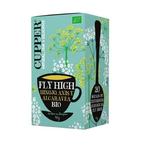 Infusão Fly High Bio 20 Infusões da Cupper
