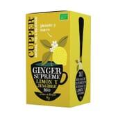Infusión Ginger Supreme Bio 20 Infusiones de Cupper