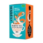 White Tea With Orange Bio 20 Infusions de Cupper