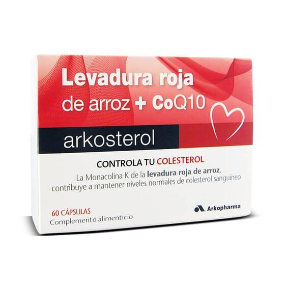 Arkosterol Levure de Riz Rouge + Co Q 10 est indiqué pour réguler le cholestérol.