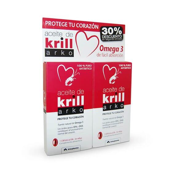 L'huile de Krill contribue au bon fonctionnement du cœur.