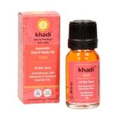 Óleo Corporal e Facial De Rosa 10 ml de Khadi