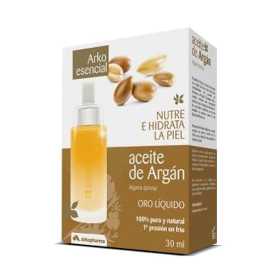 Arko Essentiel Huile d'Argan prend soin de votre peau et vos cheveux.