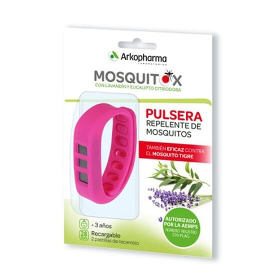 Bracelet anti-moustiques, protection pour toute la famille.