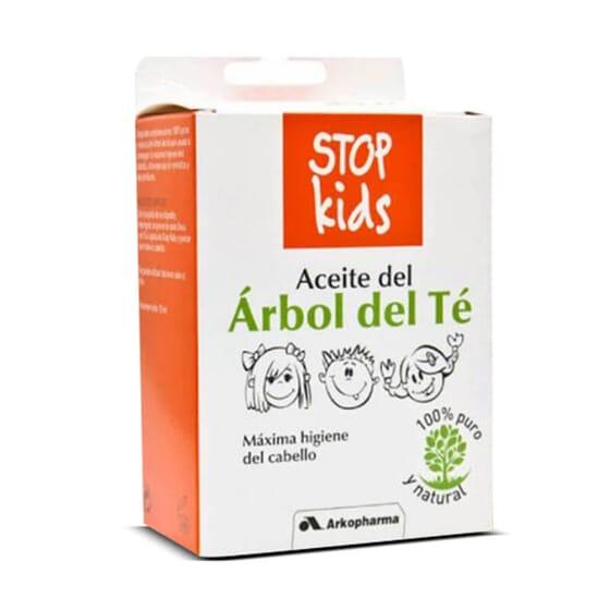 Stop Kids Huile d'Arbre à Thé prévient et traite les poux.