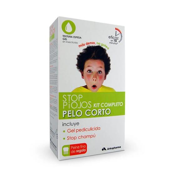 Stop Poux Cheveux Courts Kit Complet met fin aux poux en 10 minutes.