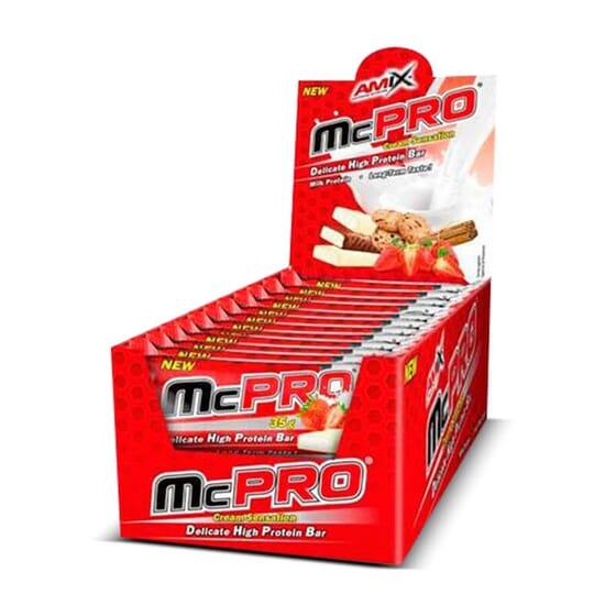 McPro Protein Bar 24 x 35g de Amix Nutrition