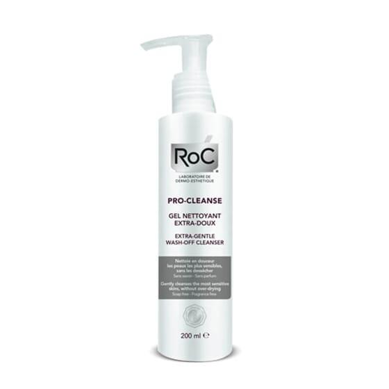 Roc Pro-Cleanse Gel Desmaquilhante Extrassuave indicado para a pele mais sensível.