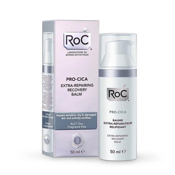 Roc Pro-Cica Baume Extra-Réparateur Relipidant apaise et répare les peaux les plus sensibles et
