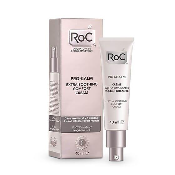 Roc Pro-Calm Crème Extra-Apaisante Réconfortante réduit l'irritation de la peau.