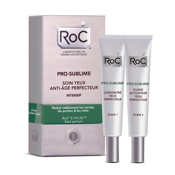 Roc Pro-Sublime Soin Yeux Anti-Âge Perfecteur-Intensif pour un usage quotidien.