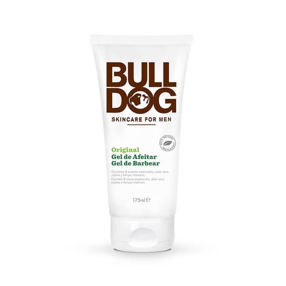 Bulldog Original Gel de Afeitado no contiene colorantes ni fragancias sintéticas.