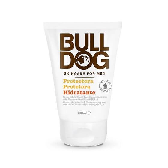 O Bulldog Creme Protetor Hidratante SPF15 não contém corantes nem fragrâncias sintéticas.