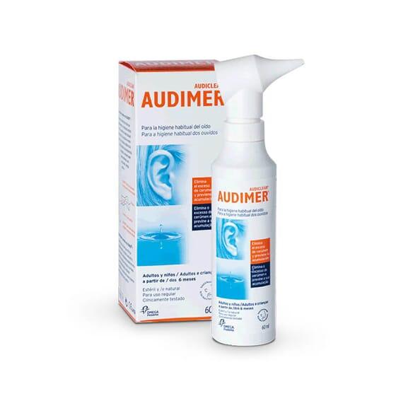 Audimer est indiqué pour l'hygiène régulière des oreilles.
