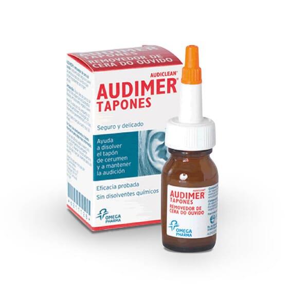 Audimer Bouchons élimine efficacement les troubles liés aux bouchons de cérumen.