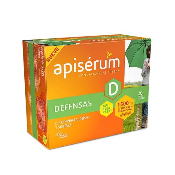 Apisérum Défenses renforce votre système immunitaire.