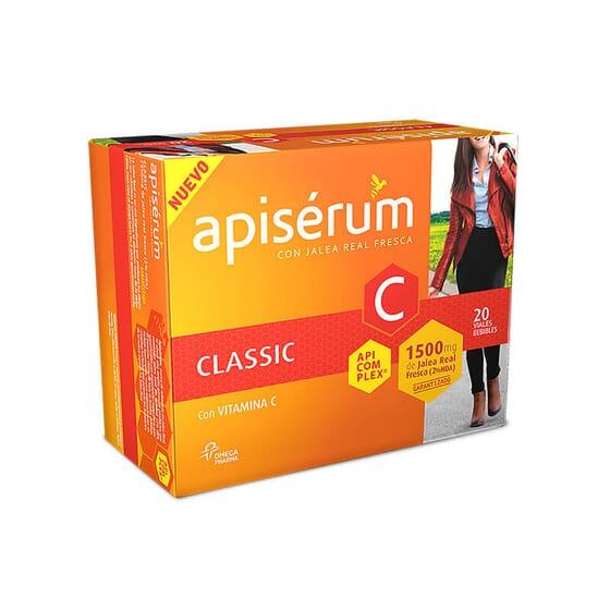 Apisérum Classic améliore l'énergie de votre organisme et stimule la performance physique et men