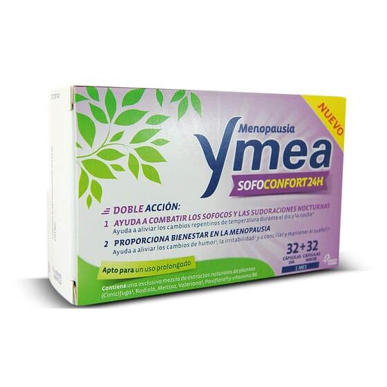 Alivio imediato dos sintomas da menopausa com Ymea Sofoconfort 24.