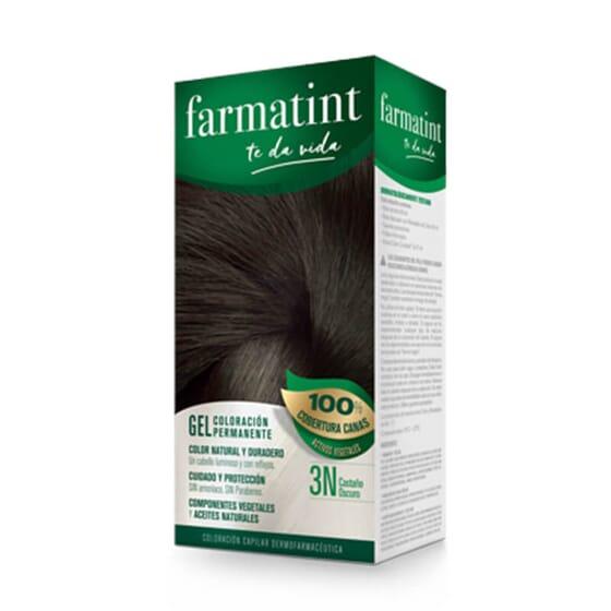 Vos cheveux plus lumineux et naturels que jamais avec Farmatint Gel 3N Châtain Foncé.
