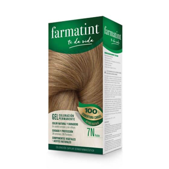 Vos cheveux plus lumineux et naturels que jamais avec Farmatint Gel 7N Blond.